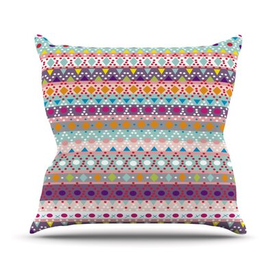 Ayasha by Nika Martinez Outdoor Throw Pillow