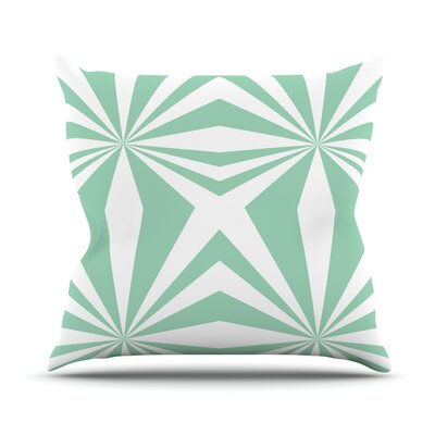 Starburst by Project M Outdoor Throw Pillow