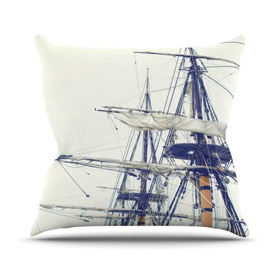 Sun Glasses at Night by Project M Outdoor Throw Pillow