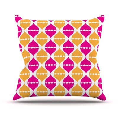 Moroccan Dreams by Apple Kaur Designs Outdoor Throw Pillow