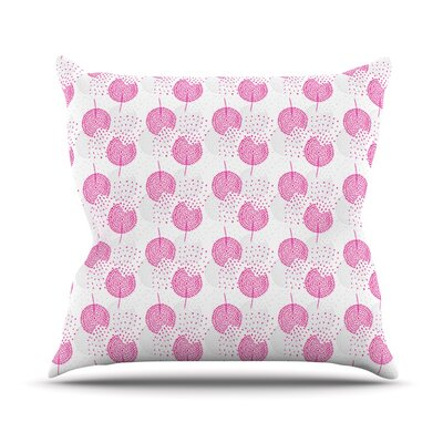 Dandelions Outdoor Throw Pillow