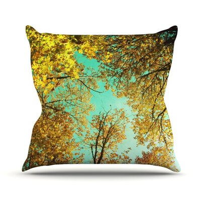 Vantage Point by Sylvia Cook Outdoor Throw Pillow