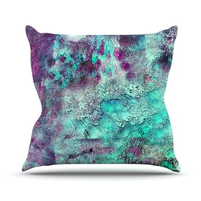 Think Outside the Box by Sylvia Cook Outdoor Throw Pillow