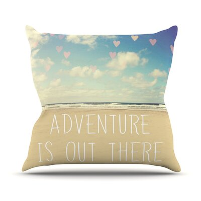 Adventure is Out There Outdoor Throw Pillow