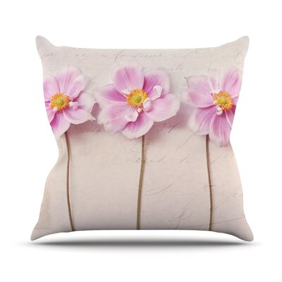 Anemone Trio Outdoor Throw Pillow