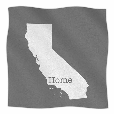 California is Home by Bruce Stanfield Fleece Blanket