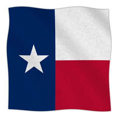 Texas Flag by Bruce Stanfield Fleece Blanket