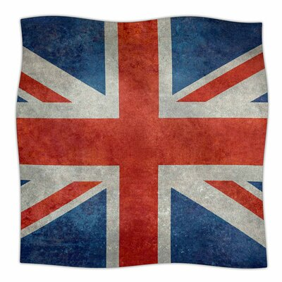 UK Union Jack Flag by Bruce Stanfield Fleece Blanket