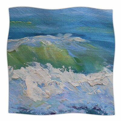 The Pastel Sea by Carol Schiff Fleece Blanket