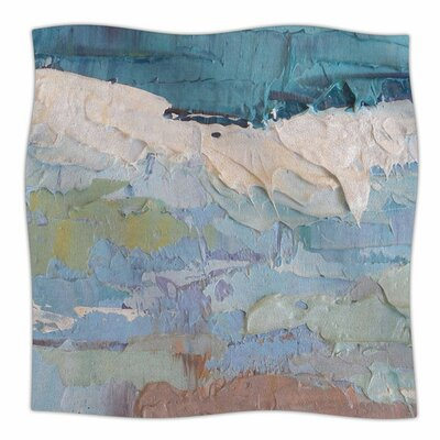 Surf Dreams by Carol Schiff Fleece Blanket Size: 80 L x 60 W