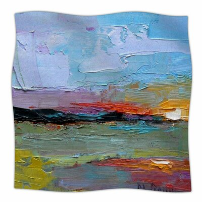 Hues by Carol Schiff Fleece Blanket