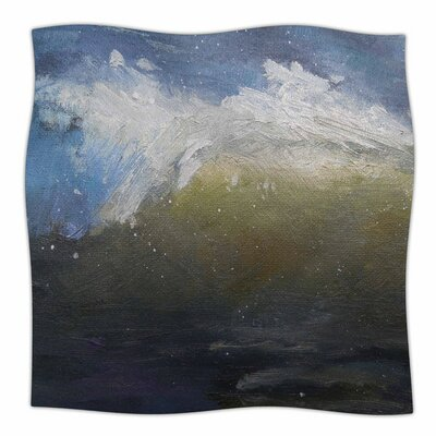 The Curl by Carol Schiff Fleece Blanket