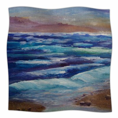 Beach Dreams by Cyndi Steen Fleece Blanket