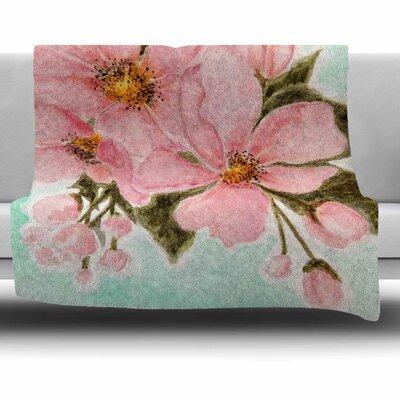 Fumiko by Christen Treat Fleece Blanket