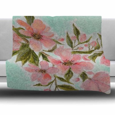 Chieko by Christen Treat Fleece Blanket