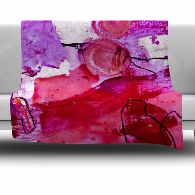 Abstract by Iris Lehnhardt Fleece Blanket