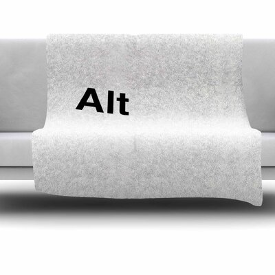 Alt by Jackie Rose Fleece Blanket