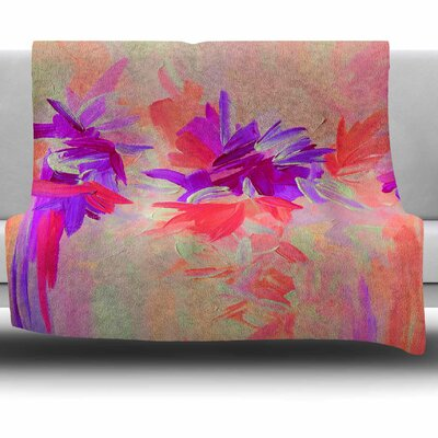 Deconstructing the Garden 3 by Ebi Emporium Fleece Blanket