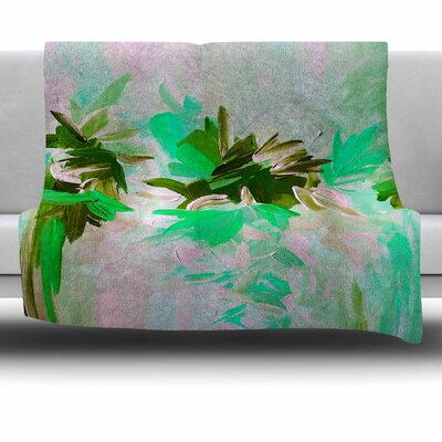 Deconstructing the Garden 5 by Ebi Emporium Fleece Blanket