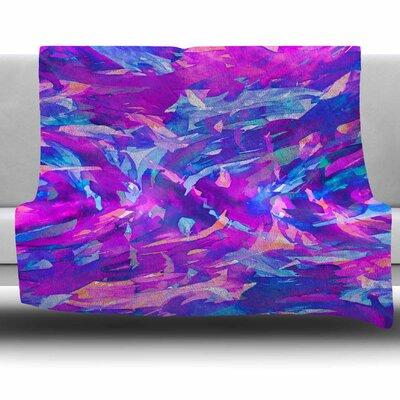 Motley Flow 2 by Ebi Emporium Fleece Blanket