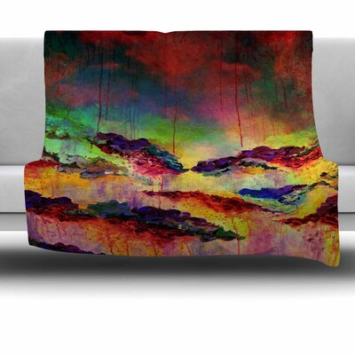 Its a Rose Colored Life 4 by Ebi Emporium Fleece Blanket