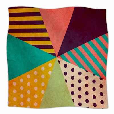 Umbrella by Louise Machado Fleece Blanket Size: 80 L x 60 W