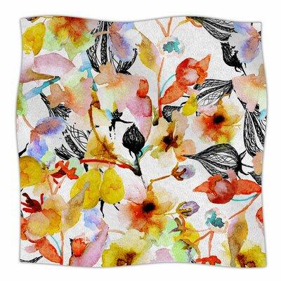 Blossoms by Liz Perez Fleece Blanket