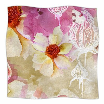Sweet Florist by Liz Perez Fleece Blanket