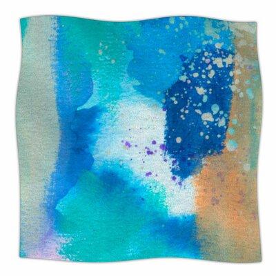About by Li Zamperini Fleece Blanket