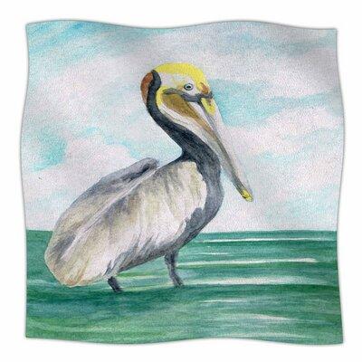 Pelican by Rosie Brown Fleece Blanket