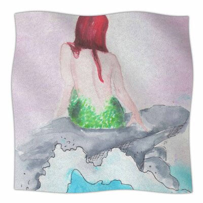 Longing to be Free by Rebecca Bender Fleece Blanket