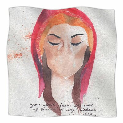 Mary Magdelene by Rebecca Bender Fleece Blanket
