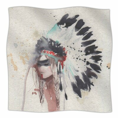 Warrior Bride by Rebecca Bender Fleece Blanket