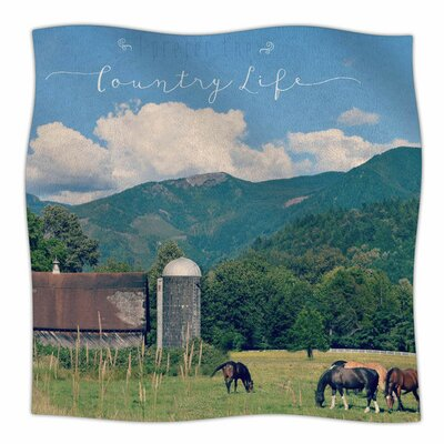 Country Life by Robin Dickinson Fleece Blanket