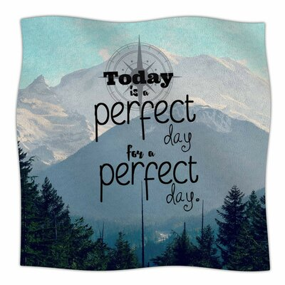 A Perfect Day by Robin Dickinson Fleece Blanket