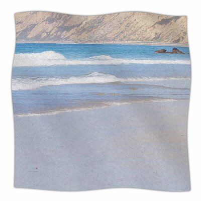 California Beach by Sylvia Coomes Fleece Blanket