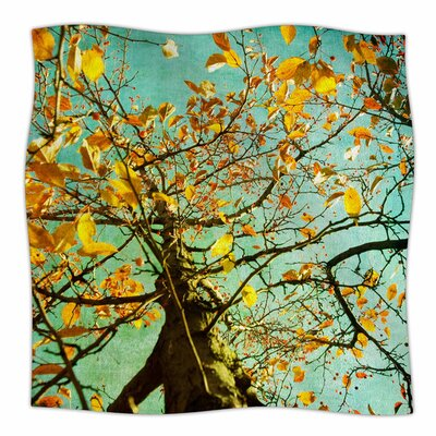 Autumn Tree by Sylvia Coomes Fleece Blanket