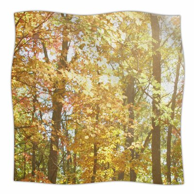 Autumn Trees 2 by Sylvia Coomes Fleece Blanket