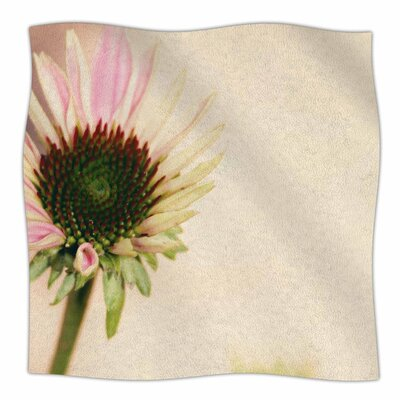 Flower by Sylvia Coomes Fleece Blanket