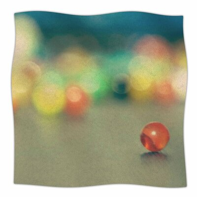 Marble Bokeh by Sylvia Coomes Fleece Blanket