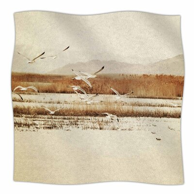 Nautical Flight by Sylvia Coomes Fleece Blanket