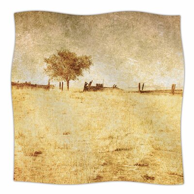 One Tree by Sylvia Coomes Fleece Blanket
