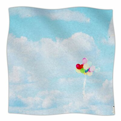 Balloons in the Sky by Sylvia Coomes Fleece Blanket