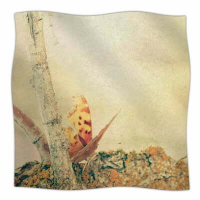 Monarch Butterfly by Sylvia Coomes Fleece Blanket