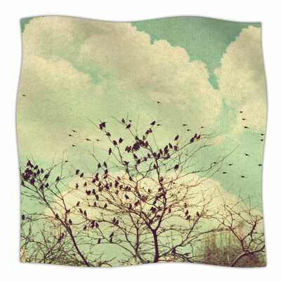 Birds of a Feather by Sylvia Coomes Fleece Blanket
