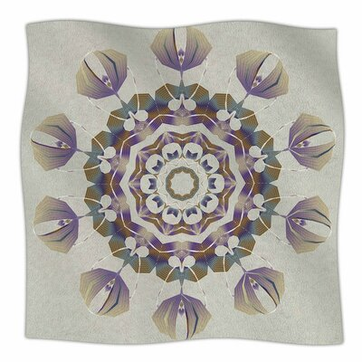 Reach Out by Angelo Carantola Fleece Blanket