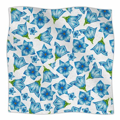 Flowers by Alisa Drukman Fleece Blanket