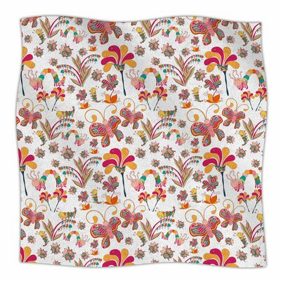 Fairy Forest by Alisa Drukman Fleece Blanket