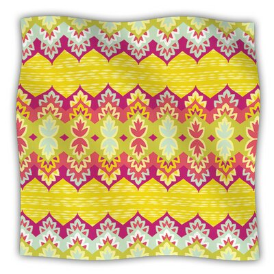 Bohemia by Amanda Lane Fleece Blanket Size: 40 L x 30 W