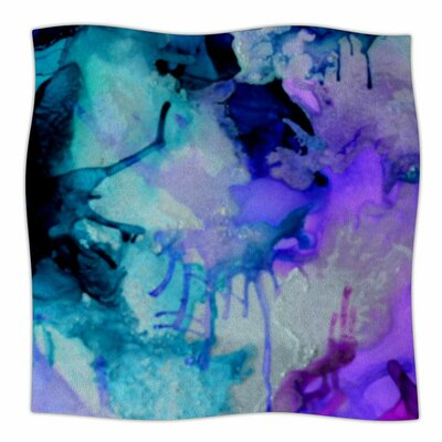 Lakia by Claire Day Fleece Blanket